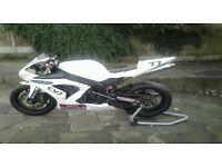 Yamaha r1 race bike
