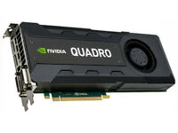 nVidia Quadro K5200 8GB Workstation Professional GPU / Graphics Card