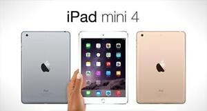 iPad mini 4 [128 GB] Wifi + Cellular Space grey . Discounted Price!!!