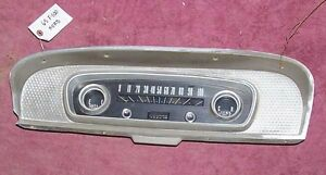 Wanted Instrument Cluster 1965-66 Ford Custom Cab