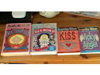Jacqueline Wilson- Candyfloss,Diamond,KISS and Vicky Angle.