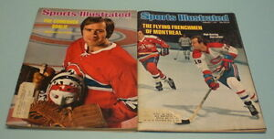 2-MONTREAL-CANADIENS-1970s-SPORTS-ILLUSTRATED-GUY-LAFLEUR-KEN-DRYDEN