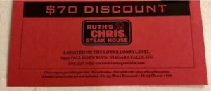 Ruth Chris Steakhouse Gift Card & Coupons