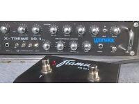 Warwick X-tream 10.1 Bass amp with Gallien Krueger 410B Cab