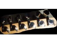Tuners machineheads chrome strat