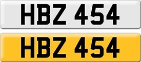 *HBZ 454* Dateless Personalised Cherished Number Plate Audi BMW M3 Ford VW Caddy Mercedes Vauxhall
