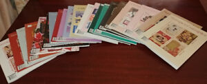 The Stampers' Sampler Magazine (21 Issues) as a lot
