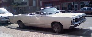 68 mercury convertible