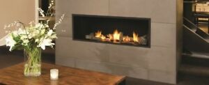 Wanted natural gas wall mount fireplace