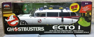 Ghostbusters Ecto-1 Die-Cast Metal Ambulance