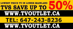TVOUTLET.CA - Lowest TV Price in Canada - ALL TV UP TO 50% OFF