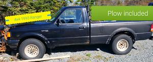 1993 4x4 Ford Ranger  Pickup Truck