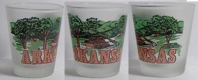Arkansas Shot Glass - Arkansas Countryside Shot Glass #3738