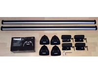 Thule roof bars for Ford Focus £70 with roof box £110