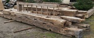 """HAND HEWN"" BARN BEAMS FOR SALE"