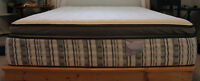Queen size eurotop mattress in excellent condition