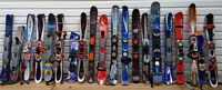 Used skis,snowboards,blades, boots, goggles and helmet for sale