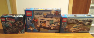 Lego City police et lego movie
