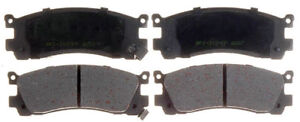 NOVA POWER PRO ND553-7432 SEMI-METALLIC BRAKE PADS (Box 11) D553