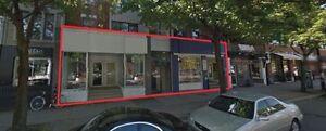 À louer sur LAURIER O.!!  Espace Commercial/Retail space