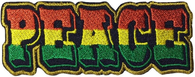 COEXIST Embroidered Patch Iron-On Sew-On Decorative Peace Love Hippie Applique