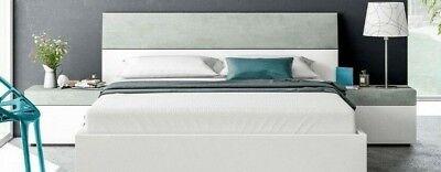 Cabezal con mesitas 1 cajon estilo moderno dormitorio para camas de 150...