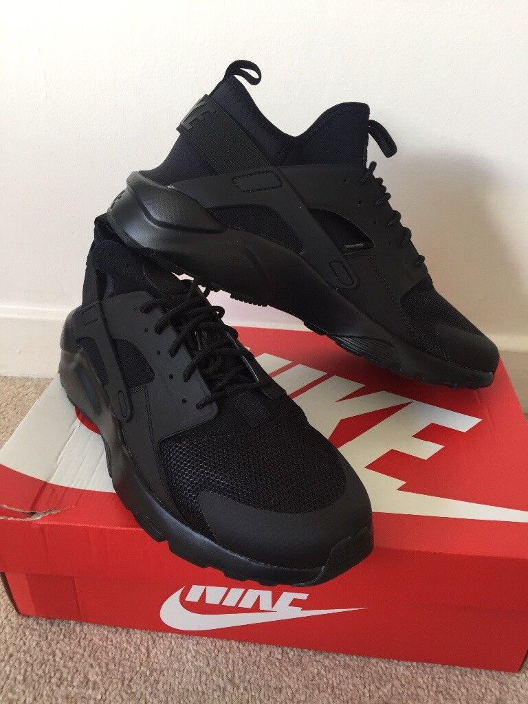 size 40 6fb2d 69859 New in Box, Black Nike Air Huarache Run Ultra, Men u0027s Size 10 ...