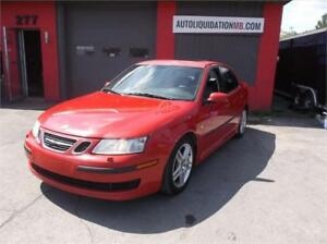 2007 SAAB 9-3****CUIR,TOIT OUVRANT,2.0TURBO***MAGS,TRÈS PROPRE