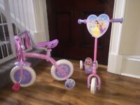 Disney Princess Bike & Scooter