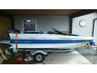 15ft Bayliner Capri speed/fishing boat