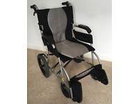 Karma Ergo Lite Wheelchair - Excellent Condition