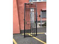 Metal Crate door security gate for garden or flat