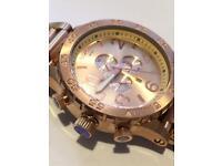 The nixon 51-30 rose gold 51 30 watch
