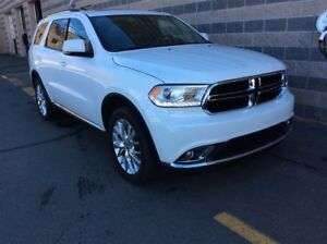 2016 Dodge Durango LIMITED/LEATHER/SUNROOF/DVD ENT./AWD