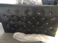 diamante 4ft 6inch double headboard