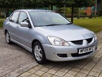 2005 MITSUBISHI LANCER EQUIPPE 1.6 PETROL, MANUAL, FULL MOT, DRIVES GREAT, 1 OWNER FROM NEW!!!