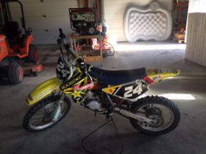 2007 rm85 big wheel dirt bike