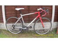 GIANT OCR RACING BIKE LIGHTWEIGHT 51cm ALLOY FRAME CLEAN BIKE JUST SERVICED