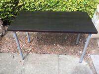 Black Ikea office table