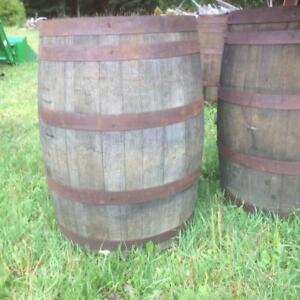 Whiskey Barrels