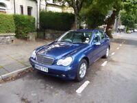 Mercedes C200 (2002), Automatic, Cardiff City Centre