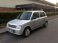 DAIHATSU CUORE - 1.0 petrol - Automatic ( low mileage ) £795