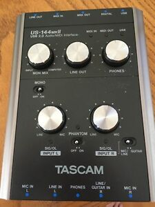 Tascam interface midi