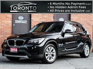 2014 BMW X1 Premium+Pano Roof+Smart access+Power seats+