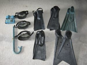 Vintage Scuba/Snorkelling ....Collectible's...New Price