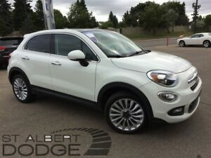 2016 Fiat 500X LOUNGE | BACK CAM | HEAT LEATHER | PWR SUN