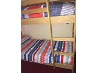 Shorty Bunk Beds and Mattresses.