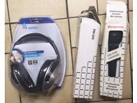 2 Microphones & 1 Headphone ( FOR KARAOKE)