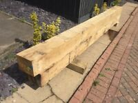 Green Timber Oak Beam