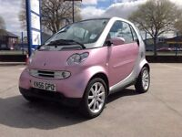 Smart ForTwo 2006 Rare Passion metallic pink colour